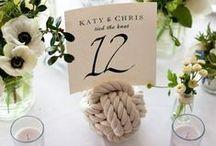 Mariage numéros de table