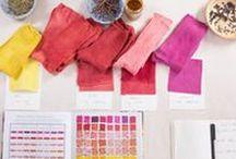 Fiber Resources / Bulk yarn finds, dye techniques