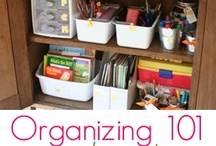 Organizing / by April Hauger