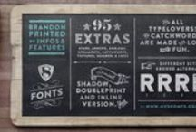font families / by Amy Benson