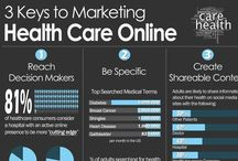 digital healthcare infographics / complex digital healthcare messages conveyed in simple graphic design / by alexandrapatrick