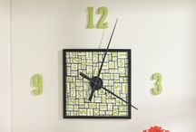 Pictures, Clocks & Art / This board has tons of inspiration and simple ideas for DIY decor, homemade wall art, picture gallery arrangements, wall clocks, and more. / by My Home My Style