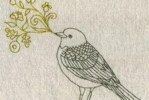 Needlepoint + Cross Stitch + Embroidery / by Jenya Rose