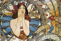 Beautiful art nouveau  / by Jennifer Balice