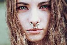● Girls with Metal ● Piercings ●