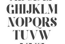 Inspiration / Fonts