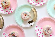 Dessert Party! / Show us the sugar! Parties with an extravagant or memorable dessert make lasting impressions! Here are a few ideas to sink your teeth into ;)