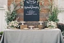 Gray & Silver Wedding Theme / Silver and gray party decorations, food, glam and more that we love here at VENUE 221! #silverparty #silver #silver #greyparty #grayparty