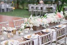 Arrangements / AO floral table arrangements / by Amy Osaba Events