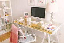HOME: Office / Home office, glam room ideas and inspiration.