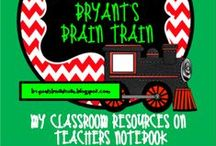 "My ""Teacher's Notebook"" Store Resources"