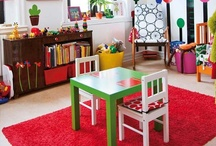 Home - Play Room / by Jessica Driggers