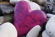 Hearts / Symbols of enduring love.
