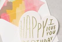 stationery / birth announcements, birthday cards, party invitations and greeting cards