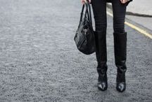 Knee high boots / Style inspiration for wearing knee-high boots / by Styling You