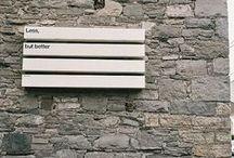 environmental design / wayfinding / signage