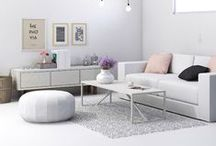 VERY CHIC / Inspired by Coco Chanel, soft colours, beautiful styling and an easy Parasian glamour at home.