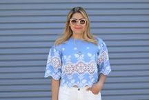 FASHION: Spring Looks / Spring Outfit inspirations like pastels, florals, metallics, etc.