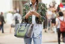 FASHION: Denim looks / What to wear with jeans.