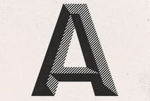 Typography / Fonts, type, typography... / by Anne Lehmann