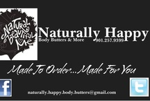 Naturally Happy Body Butters & More / by Gretchen G
