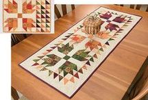 Table runners / by Kathy Rideout
