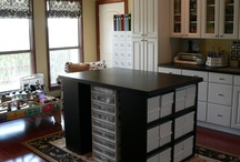 A Place for All My Craft / My Craft Room Ideas / by Julie Wilder