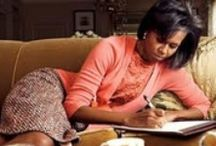 1st Lady Michelle Obama 3 / by Gretchen G