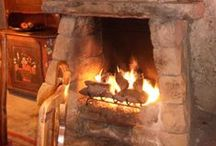 Fireplaces and Mantels / Beautiful mantels and cozy fireplaces.