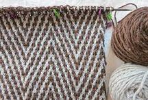 Craft ~ Knitting / I bloody love knitting!