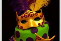 Mardi Gras / Here's to the fun of having your (king) cake and eating it too!!!
