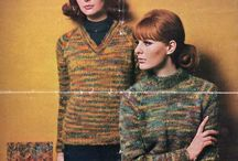 *My Website - The Sunny Stitcher* / Free vintage knitting patterns and fashion history pics from magazines and sewing pattern books.