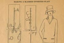 Craft: Vintage Sewing Patterns (before 1960) / Making your own vintage clothes, using new or vintage patterns.
