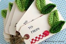 Gift Tags and Wraps / by Kathy Rideout