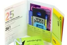 ASTROBRIGHTS® Papers / Bright and vibrant colors to embolden every message by delivering excellent print performance at an exceptional value.  / by Neenah Paper and Packaging