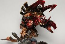 WH40k - Tyranids / Warhammer 40k | Tyranids | Collection of miniatures painted by modellers from all over the world.