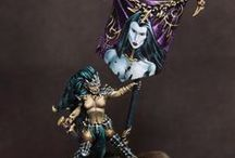 Warhammer FB - Dark Elves / Warhammer Fantasy Battles | Dark Elves | Collection of miniatures painted by modellers from all over the world.