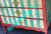 Bungalow No. 9 painted funiture / Custom painted furniture
