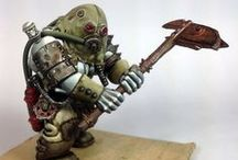 WH40k - Chaos Renegades / Warhammer 40k | Chaos Renegades | Collection of miniatures painted by modellers from all over the world.