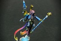 WH40k - Harlequins / Warhammer 40k | Harlequins | Collection of miniatures painted by modellers from all over the world.