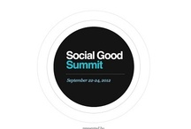 Social Good Summit 2012