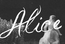Alice in Wonderland / All about Alice's visual world