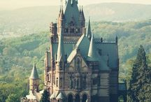 Castles and Cottages / Castles, cottages and other places I dream of dwelling.