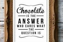Chocolate Quotes / At Pretzel Perfection, we enjoy life, and our creations help us get the most out of it! Life is simply too short to not have fun with your food. This board is our nod to that sentiment... and to our love for chocolate!