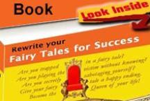 "Fairy Tales for Success / I wrote the ebook ""Rewrite your Fairy Tales for Success: Unleash your Greatness"" to help spiritual, creative women to heal the mother-daughter wounds that keep us playing small.  Take the Fairy Tale Quizz in the pinterest board to find out in which fairy tale you may be trapped or look inside the book! (Non-fiction, creativity, Sacred Feminine. Women's stories, Fairy Tales for women, female leadership). http://www.dreamalchemist.com"