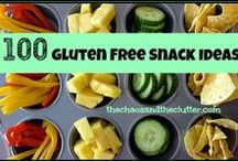 Gluten Free Snacks / Sometimes finding the right snacks can be harder than cooking an elaborate meal. This board suggests simple gluten free snacks that don't sacrifice on flavor!