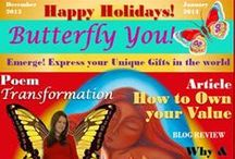 Butterfly You! Magazine / Take a peak at my gorgeous Butterfly You! digital magazine, created to help you express your unique gifts and talents in the world and make a difference. Then go flip it live at: http://mariamar.com/butterflyU