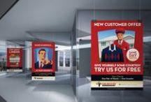 Outdoor & POP / Outdoor advertising is one of our agency specialties. Check out our body of work in outdoor campaigns. #outdoors #design #advertising