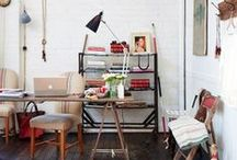 Office   Decor Ideas / by WallsNeedLove