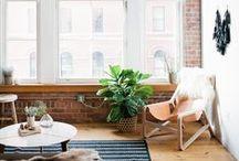 Industrial Rustic   Home Ideas / by WallsNeedLove